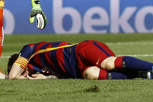 لئو مسی به دلیل مصدومیت در بازی مقابل لاس پالماس، به مدت 8 هفته قادر به همراهی بارسلونا نخواهد بود.
