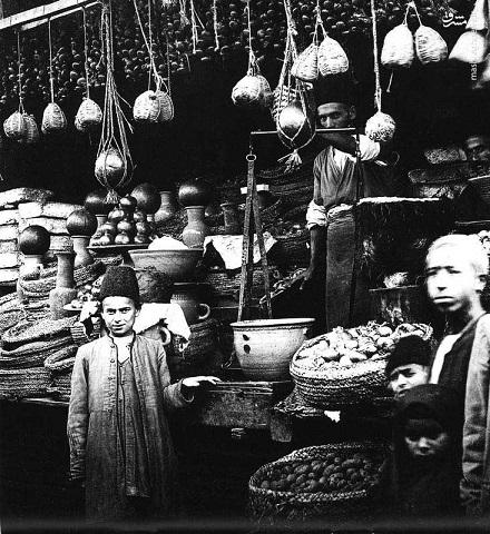 سوپر مارکتی متفاوت در عهد قاجار(عکس)