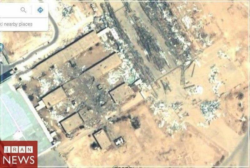 وضعیت فعلی پایگاه عین الاسد(عکس)