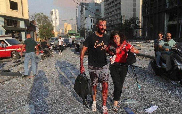 بیروت پس از انفجار: